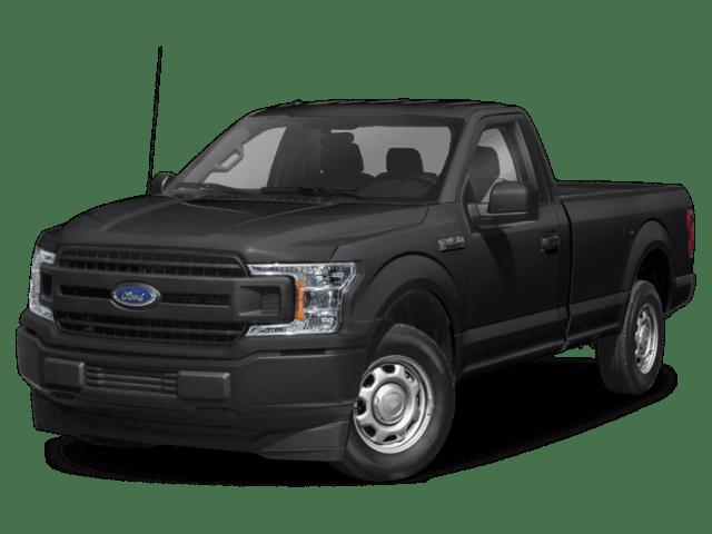 2020 Ford F-150 in black