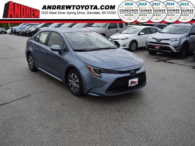 New 2020 Toyota Corolla Hybrid LE FWD 4D Sedan