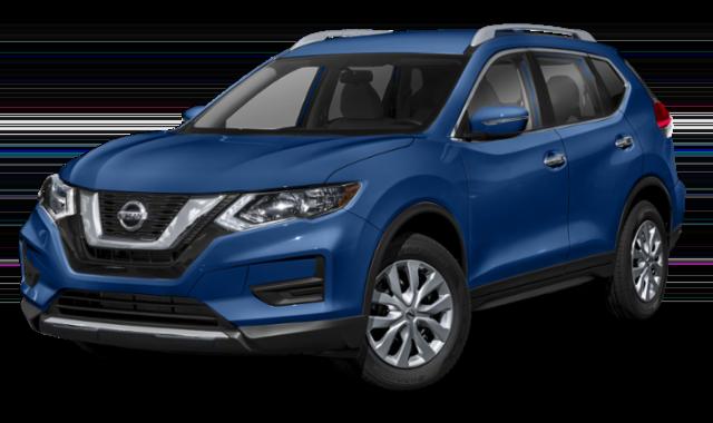 2019 Blue Nissan Rogue