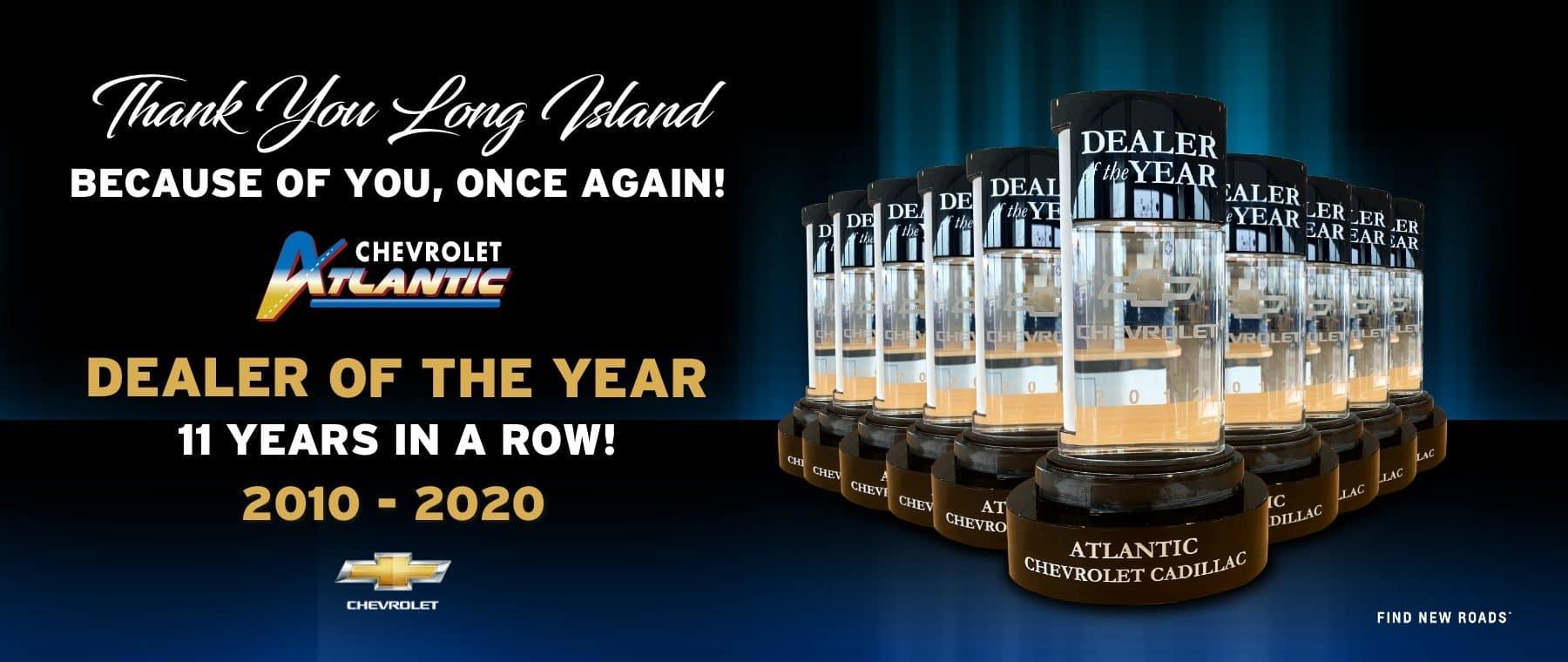 dealer of the year slide