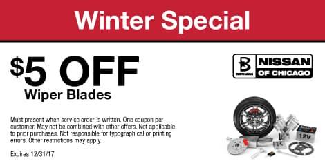 Winter Special $5 OFF Wiper Blades