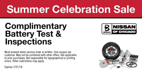 Summer Celebration Sale: Complimentary Battery Test & Inspection