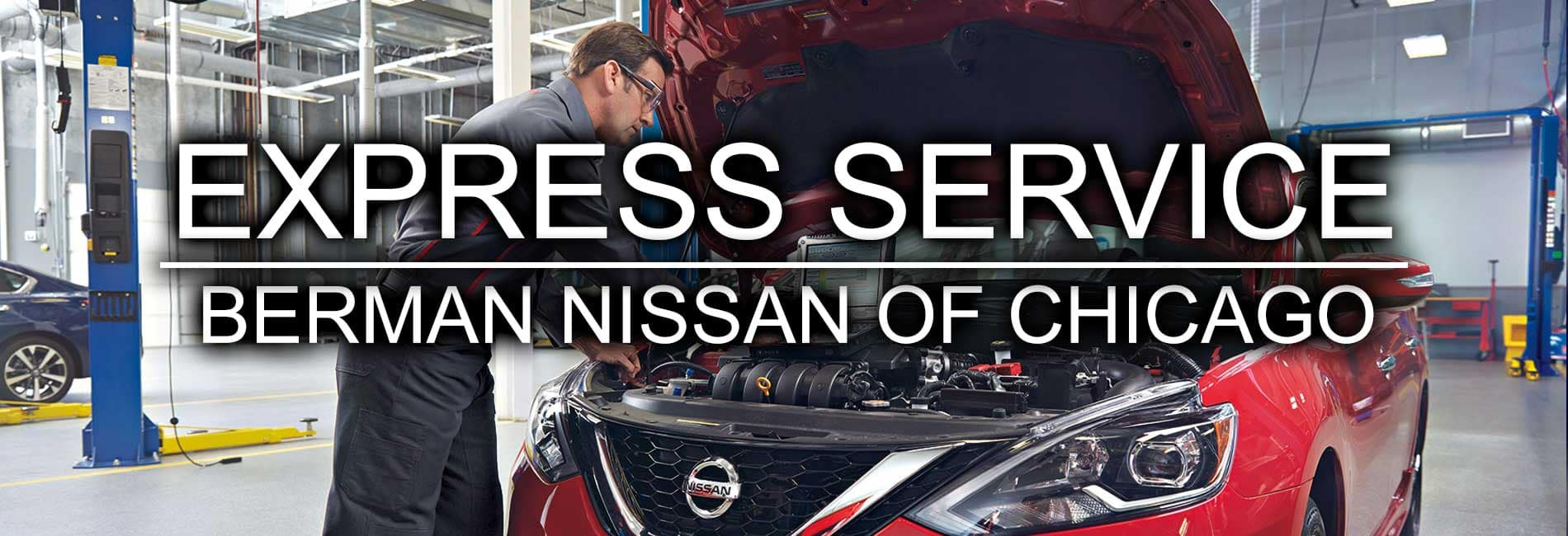 Express Service at Berman Nissan of Chicago