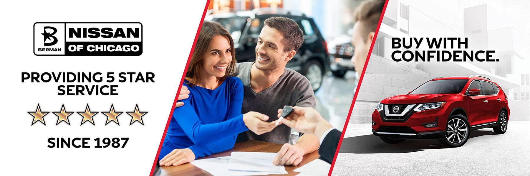 Buy and Service With Confidence at Berman Nissan of Chicago