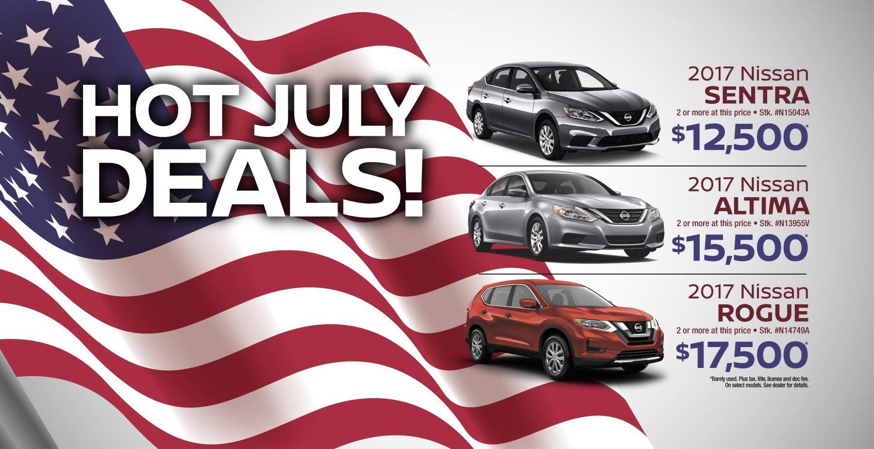 Hot July Deals
