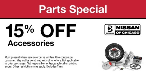 Parts Special: 15% OFF Accessories