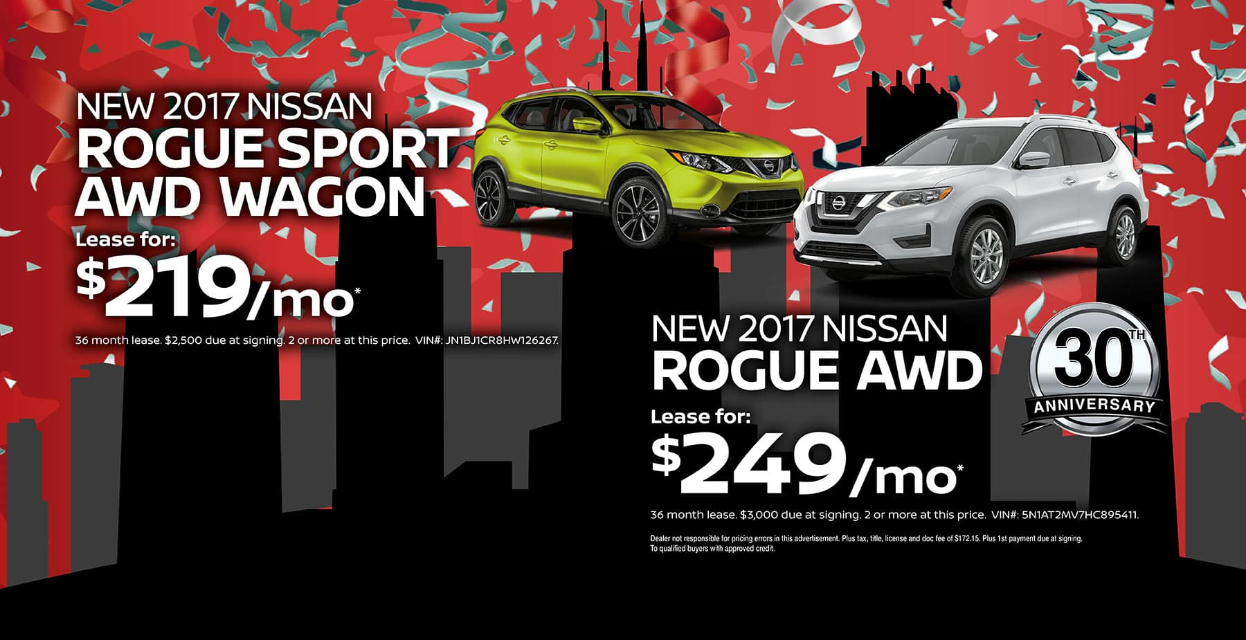 2017 rogue and rogue sport october savings at berman nissan of chicago