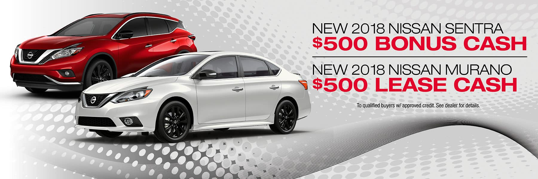 $500 Bonus Cash Available on Sentra and Murano at Berman Nissan of Chicago!
