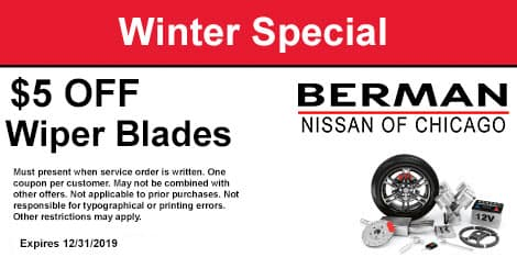 Winter Special: $5 OFF Wiper Blades