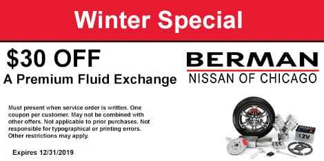 Winter Special: $30 OFF A Premium Fluid Exchange