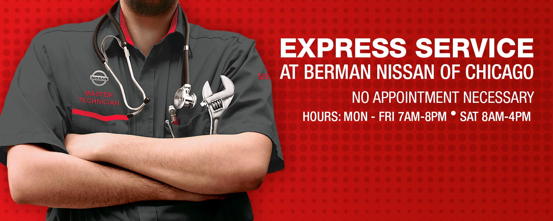 Express Service at Berman Nissan of Chicago!