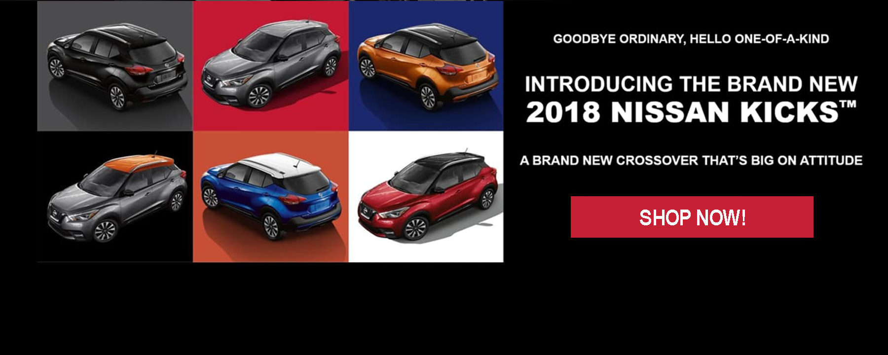 Introducing the 2018 Nissan Kicks available NOW at Berman Nissan of Chicago!