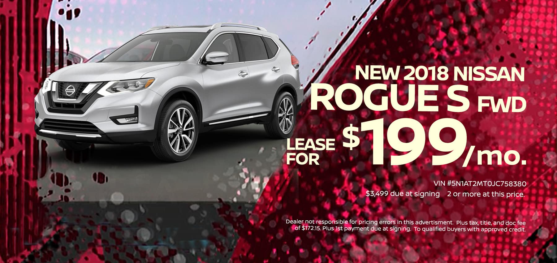 2018 Nissan Rogue March Sale at Berman Nissan of Chicago