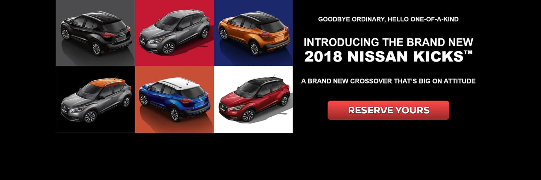 Introducing the 2018 Nissan Kicks! Reserve yours today at Berman Nissan of Chicago!