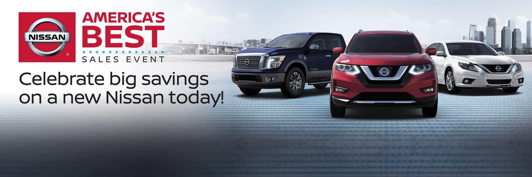 Celebrate BIG Savings on a New Nissan today during the America's Best Sales Event at Berman Nissan of Chicago!