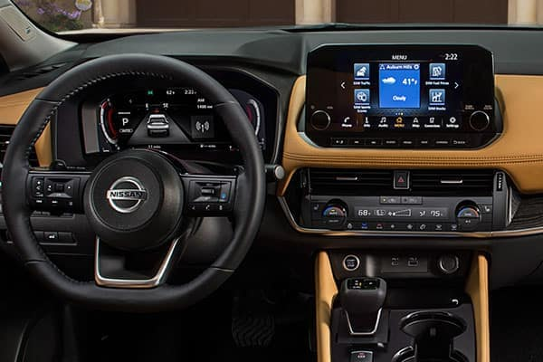 2021 Nissan Rogue Safety & Technology