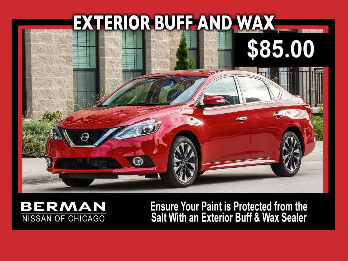 Exterior Buff and Wax: $85.00