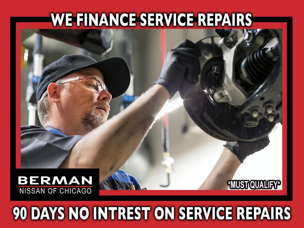 We Finance Service Repairs