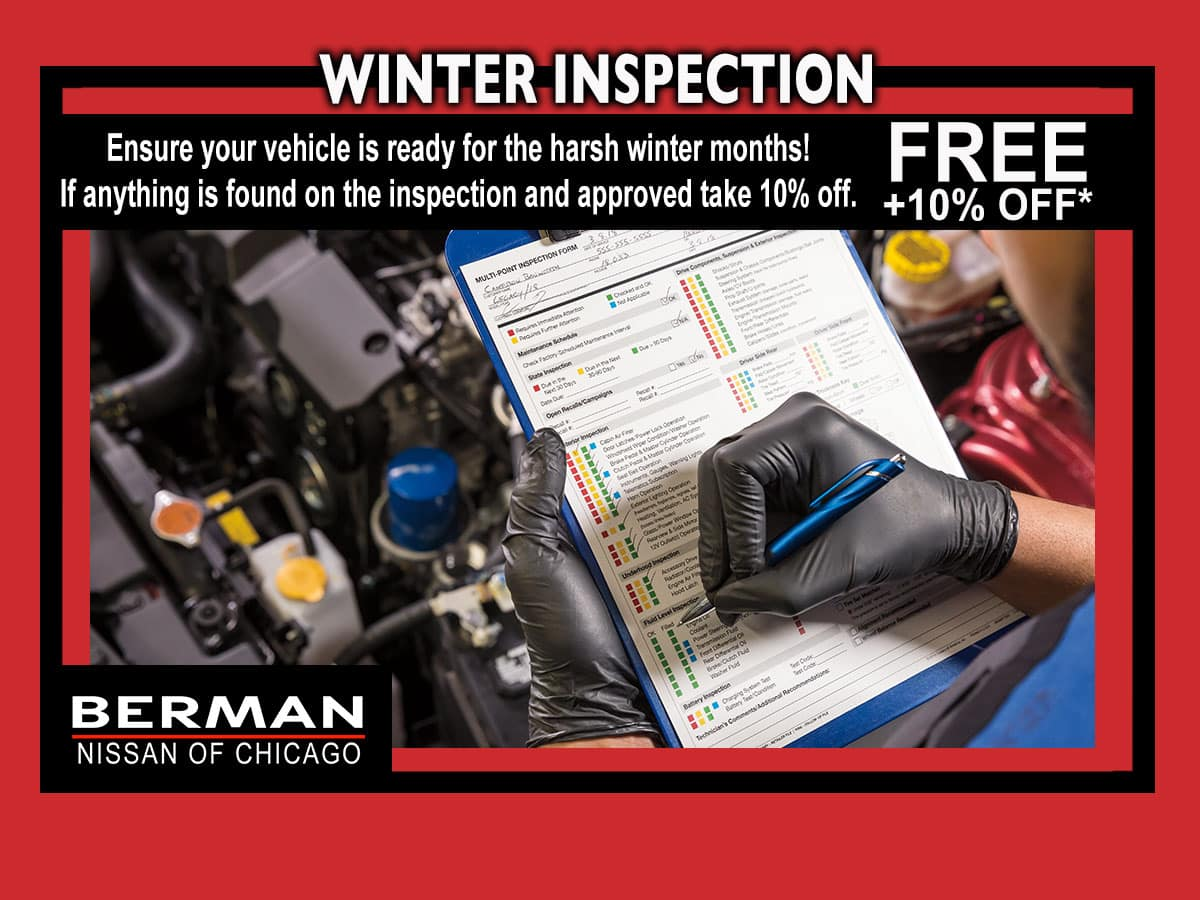 Pre Winter Inspection Special