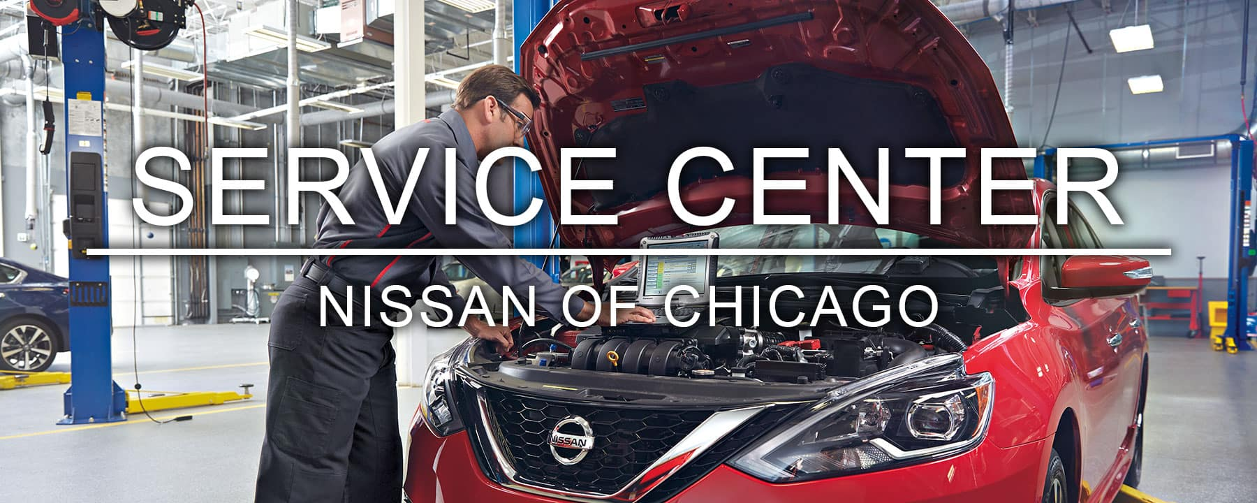 Berman Nissan of Chicago Service Center