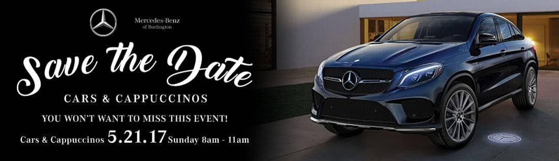 Cars and Cappuccinos | May 21st, 2017 | Mercedes-Benz of Burlington