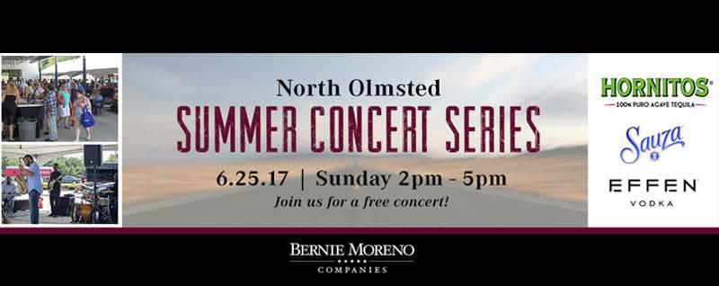 Summer Concert Series in North Olmsted | June 25th, 2017 | Bernie Moreno Companies