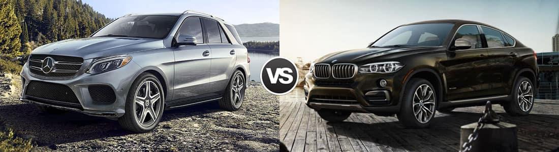 2018 Mercedes-Benz GLE vs 2018 BMW X6