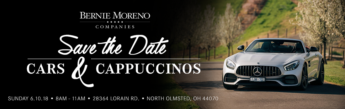 Cars and Cappuccinos | June 10th, 2018 | Bernie Moreno Companies