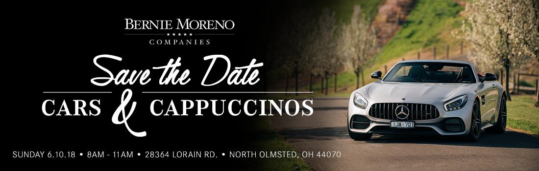 Cars and Cappuccinos | September 24th, 2017 | Bernie Moreno Companies