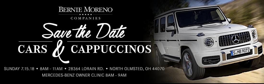 Cars and Cappuccino | Bernie Moreno Companies