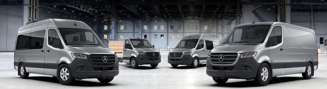 2018 Mercedes-Benz Sprinter Vehicles