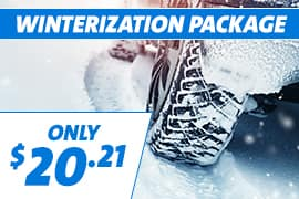 Winterization Package Only $20.21