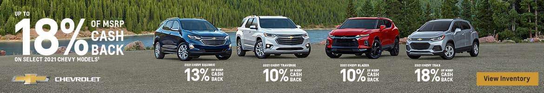 Chevrolet 18% Off