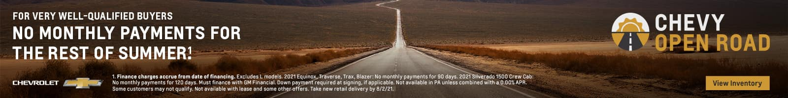 12_JULY_OPEN ROAD DEFERRAL GENERIC_NATIONAL1600x200_BANNER