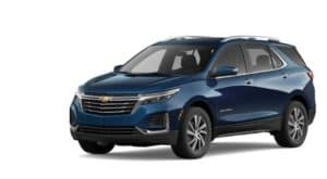 A 2022 Chevy Equinox is angled left.