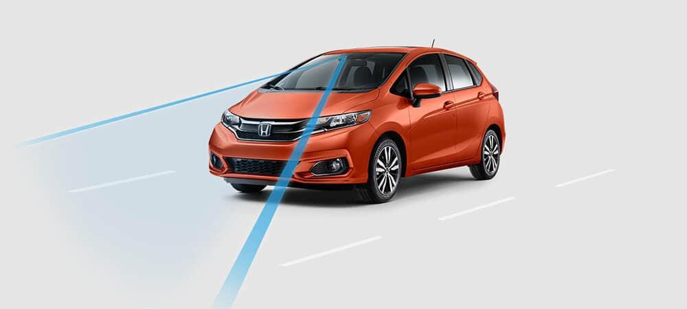 2018 Honda Fit with radar sensing