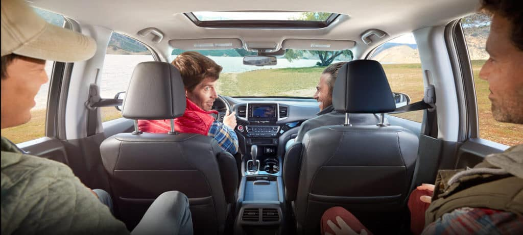 2018 Honda Ridgeline Standard Crew cab
