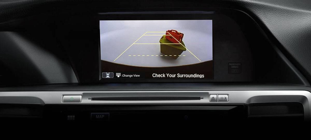 2017 accord sedan back up camera