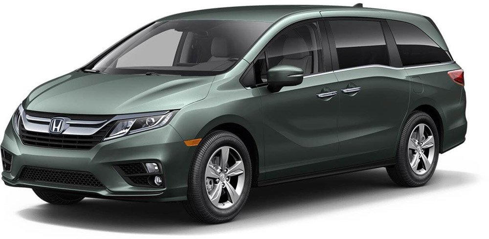 2018 Honda Odyssey Forest Mist Metallic