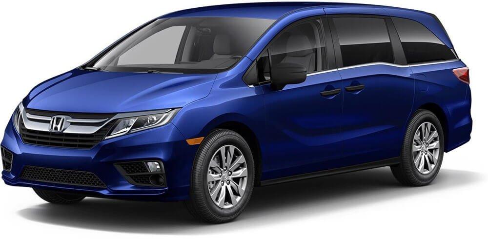 2018 Honda Odyssey Obsidian Blue Pearl