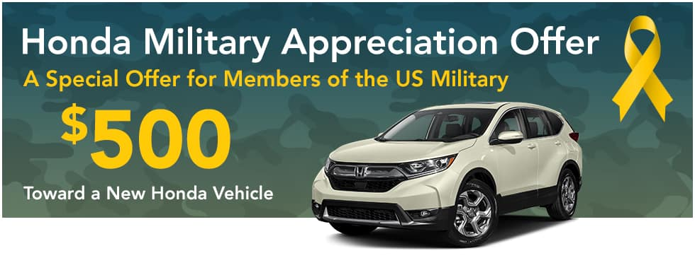 Honda US Military Rebate In Brandon, MS
