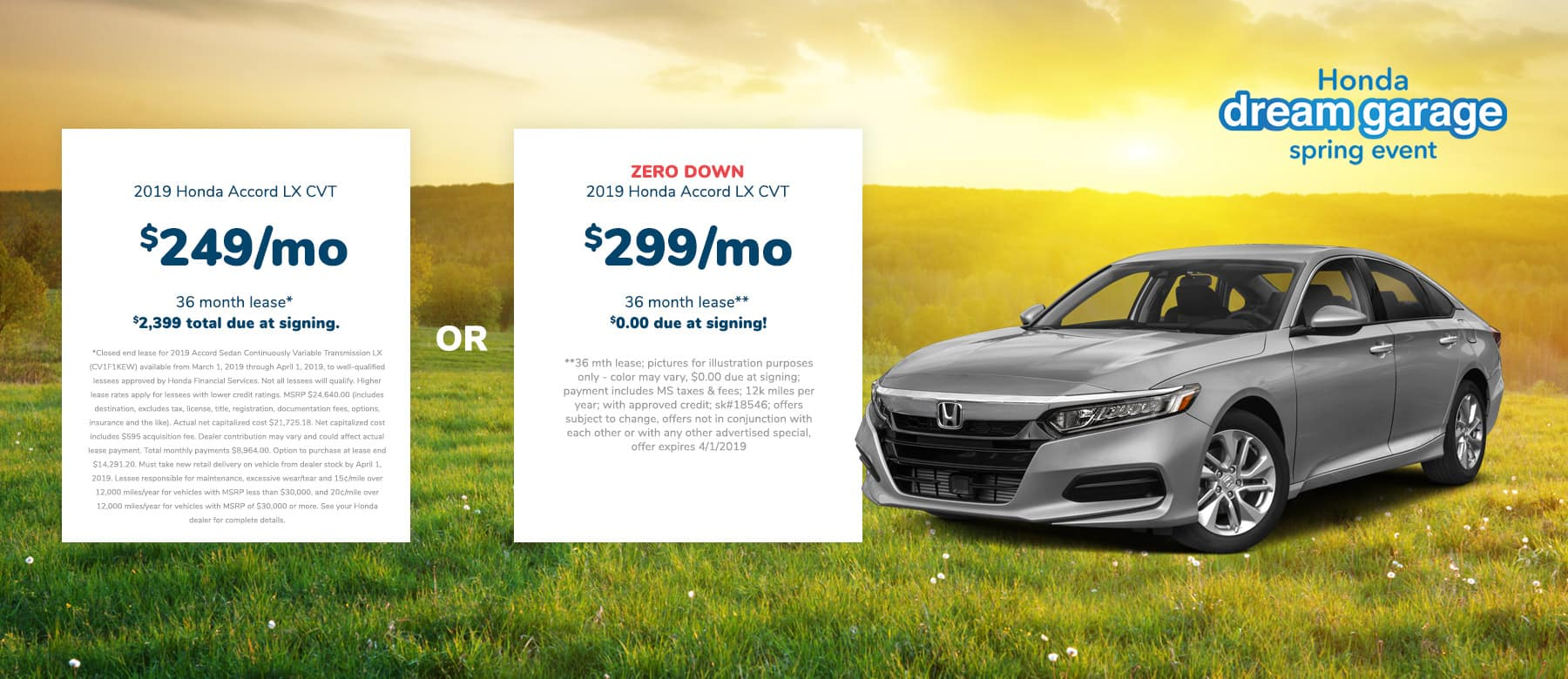 Honda Accord Lease offer in Brandon, MS