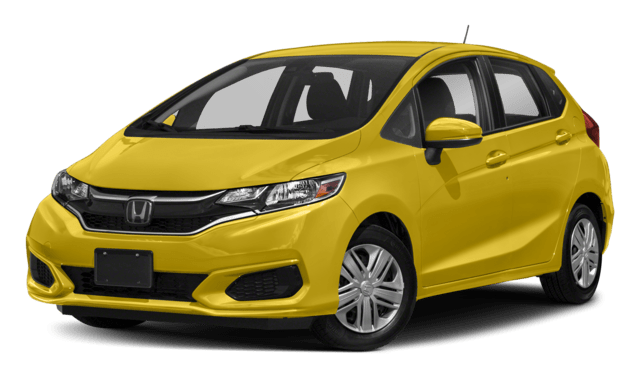 Yellow 2018 Honda Fit