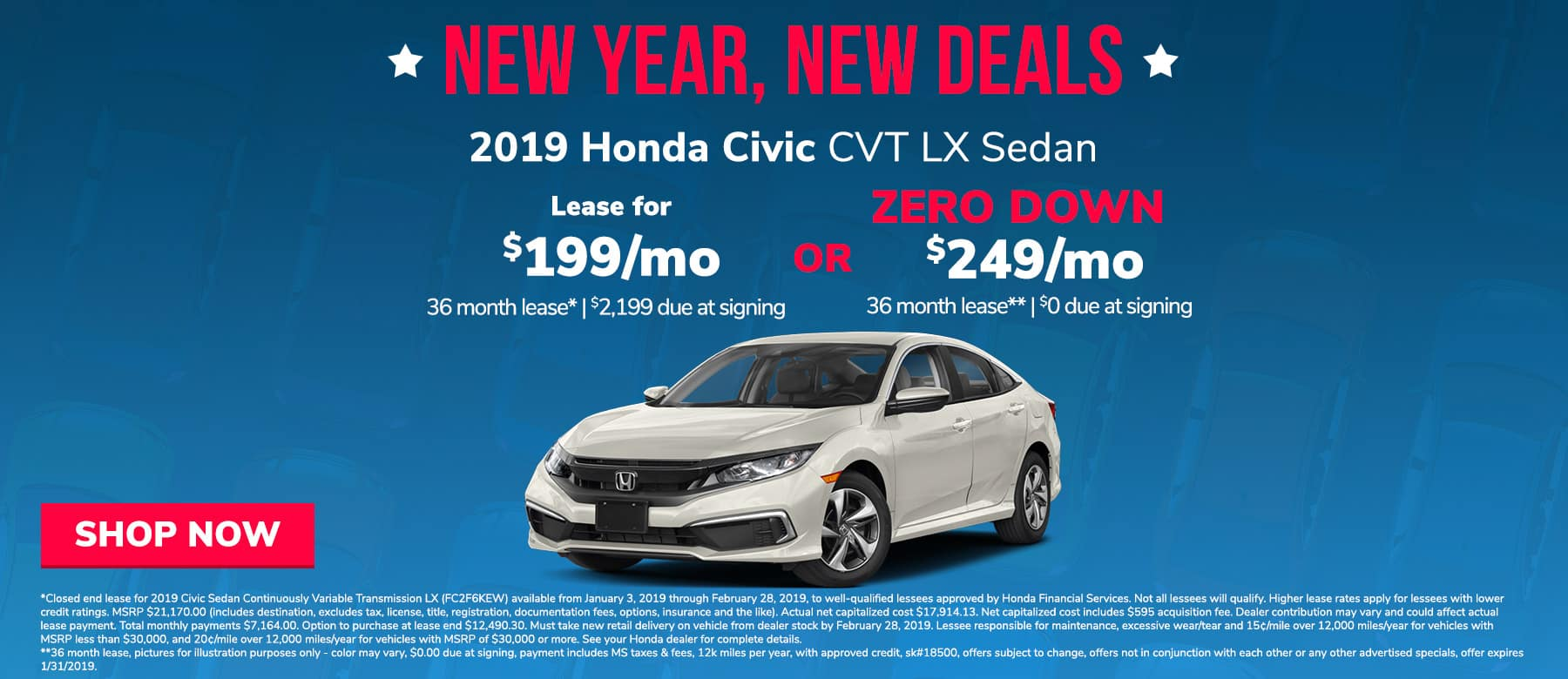 Civic offer in Brandon, MS
