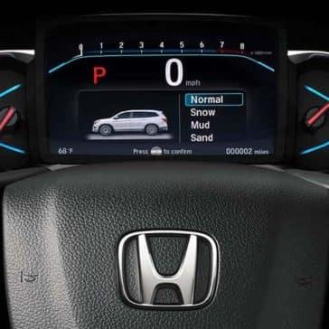 2019 Honda Pilot features