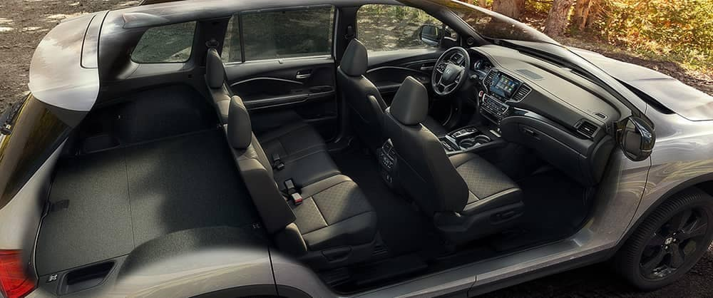 2019 Honda Passport Seating