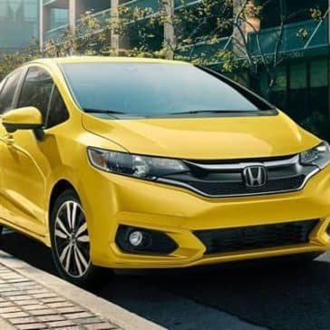 2019 Honda Fit Parked