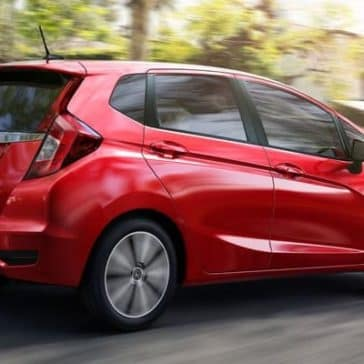 2019 Honda Fit Rear