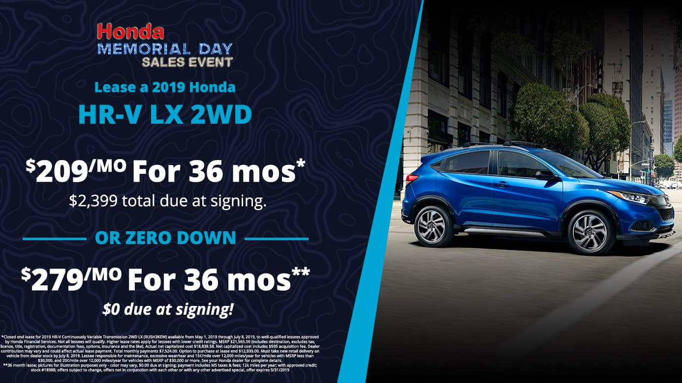 Hr-V offer near me