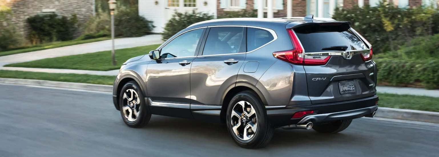 Honda CR-V Driving On Street